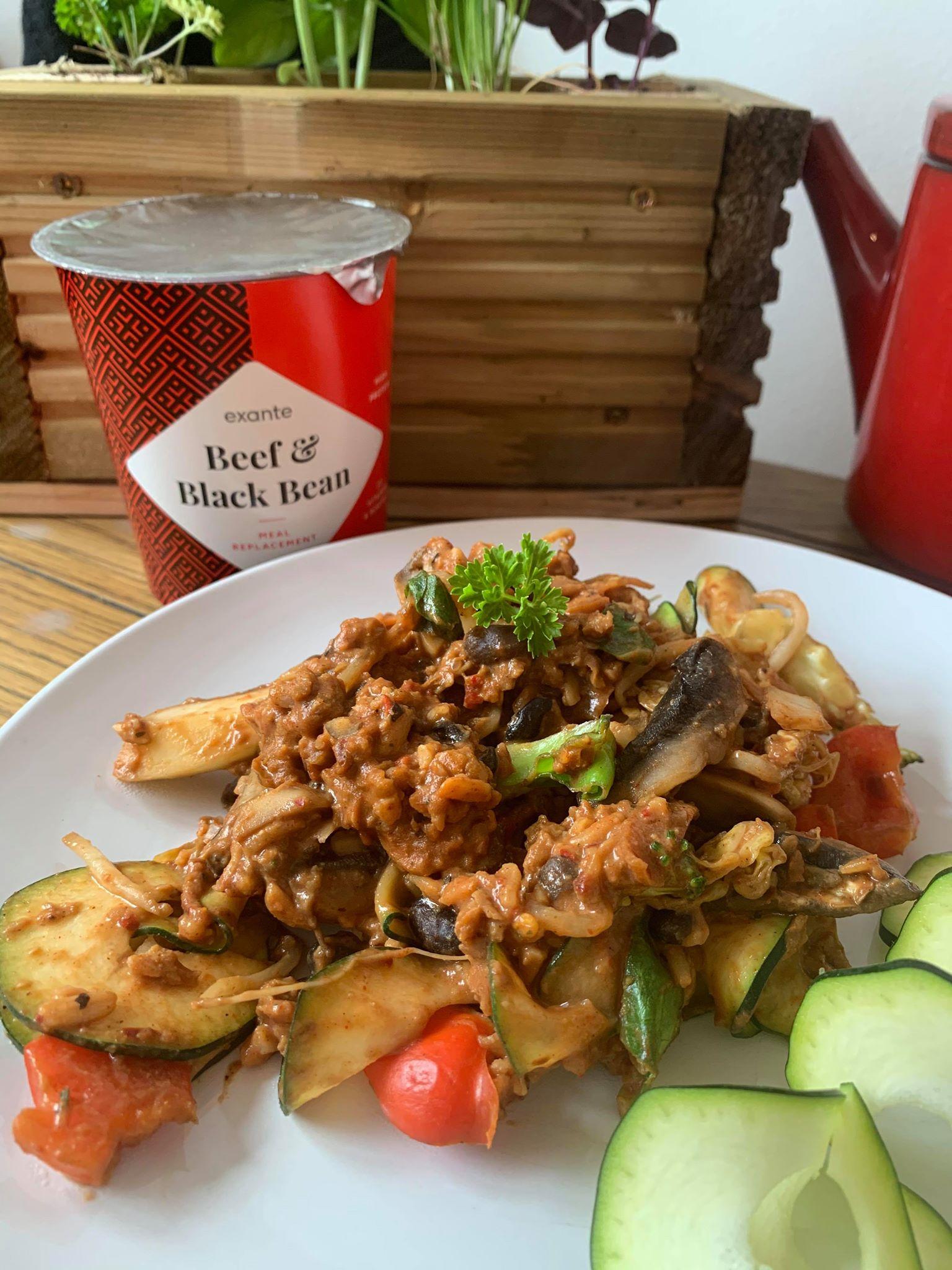 Beef & Black Bean Stir Fry