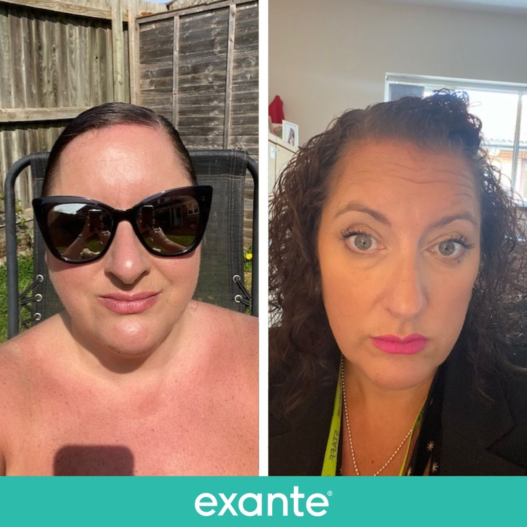 Sarah has lost over 3 stone with exante