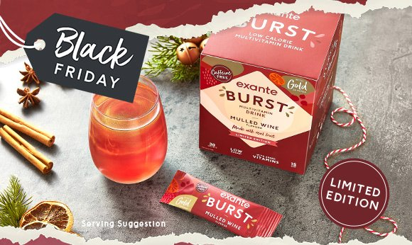 Introducing the Mulled Wine Flavour BURST