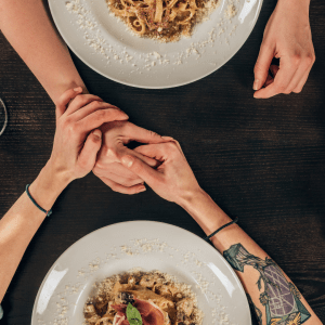 If dieting with a partner, make sure you still have date nights