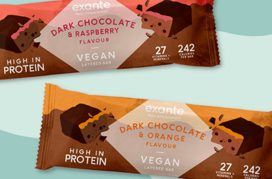 Introducing exante's first-ever plant-based Bars!