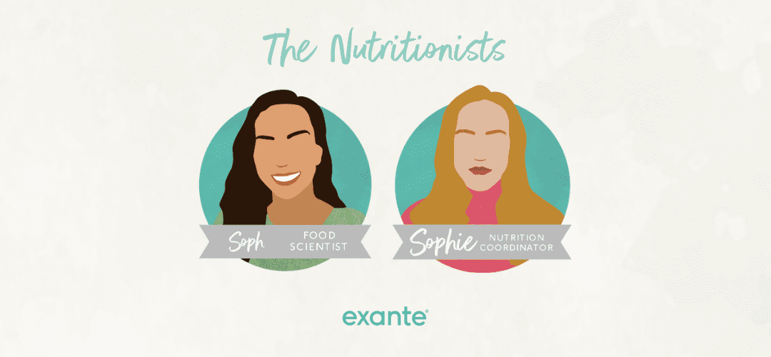 nutritionists for exante