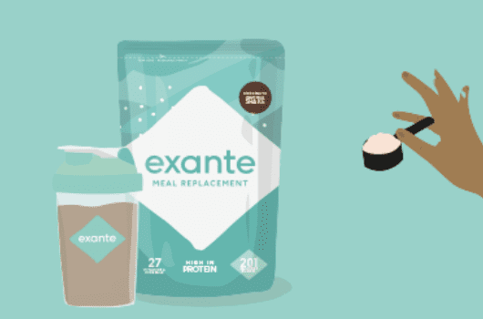 Shake Up Your Shakes with NEW! exante Pouches