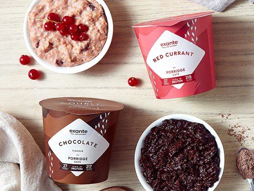 Wake up to our NEW Red Currant and Chocolate Flavour Porridge Pots