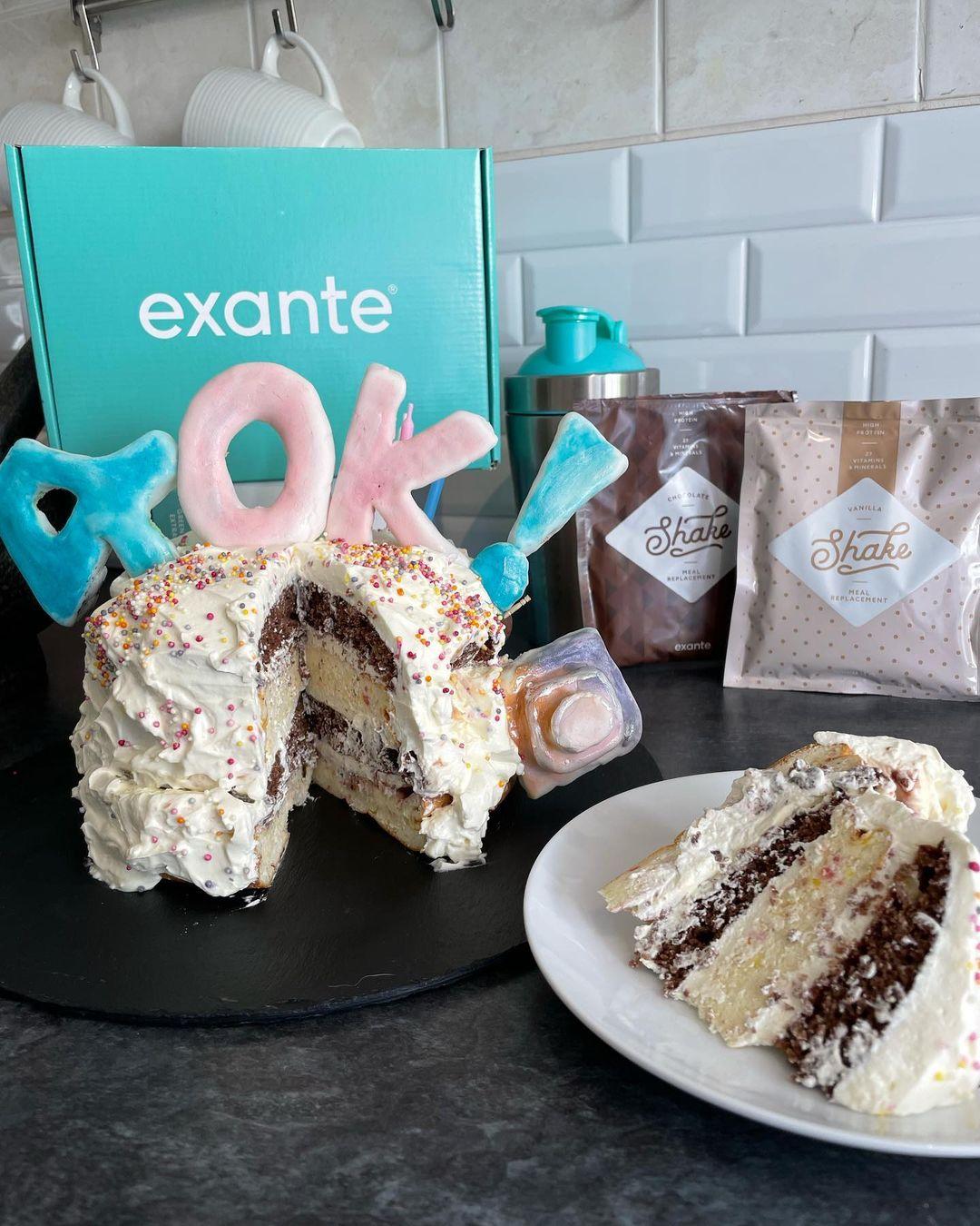 Bake your own exante cake