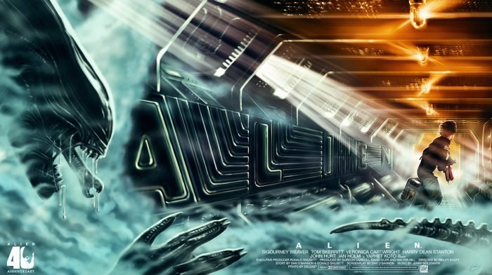 Interview: Illustrator Sam Gilbey On His Zavvi Gallery Alien Print