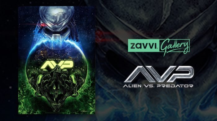 Interview: Chris Christodoulou On His Zavvi Gallery Alien Vs. Predator Print