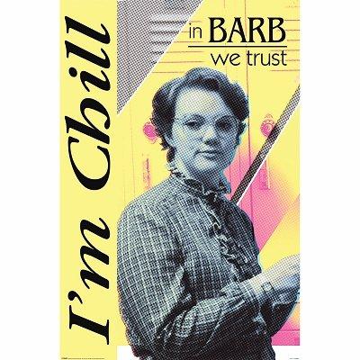 Barb Stranger Things Poster