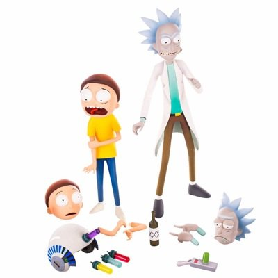 Rick and Morty Action Figure Set
