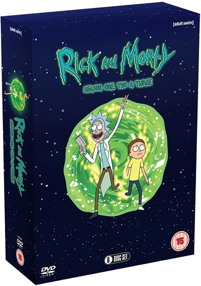 Rick and Morty DVD Box Set