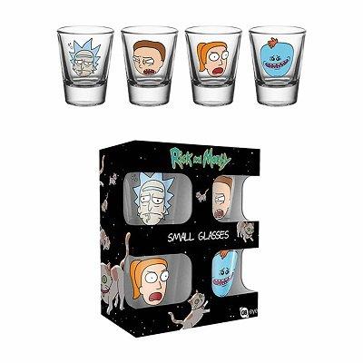 Rick and Morty Shot Glass