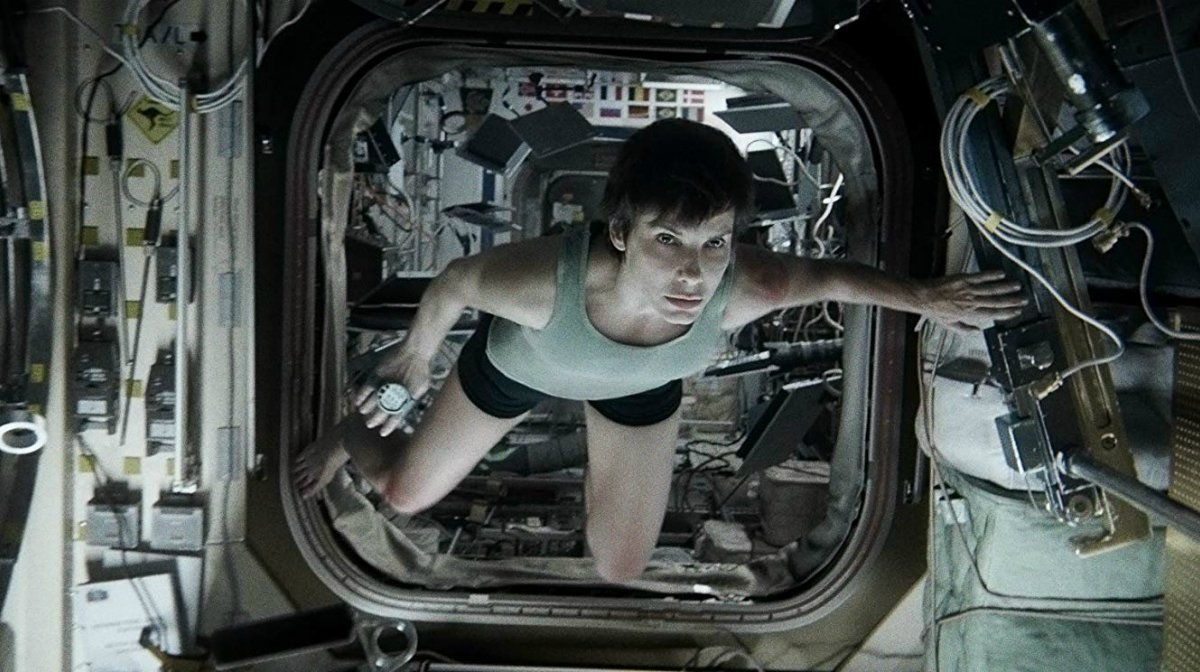 Zavvi's Best Films Of The Decade: Gravity