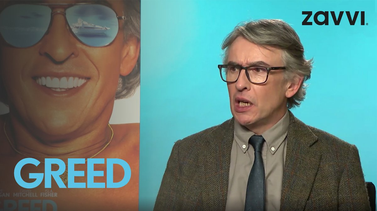 Interview: Steve Coogan On Starring In Michael Winterbottom's New Film Greed