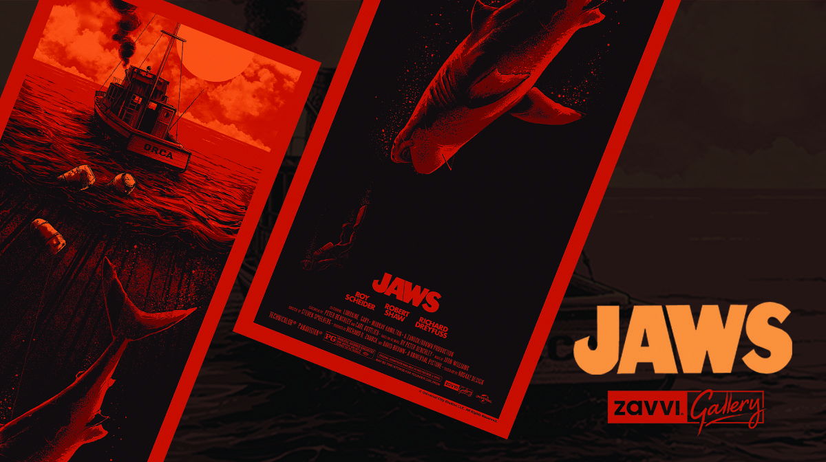 Interview: Illustrator Nos4a2 On His Zavvi Gallery Exclusive Jaws Print