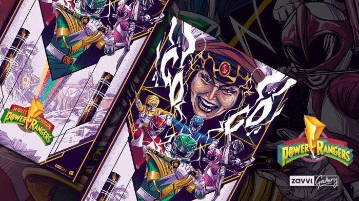 Interview: Artist Jaren Hemphill On His Zavvi Gallery Power Rangers Print
