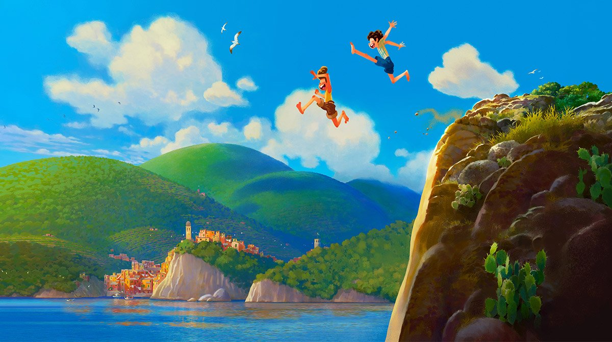 Disney Announces New Original Pixar Movie Luca Arriving 2021