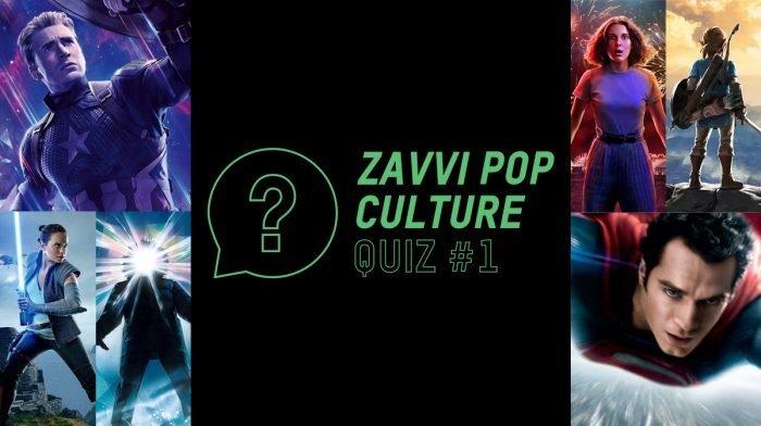 The Zavvi Pop Culture Quiz #1