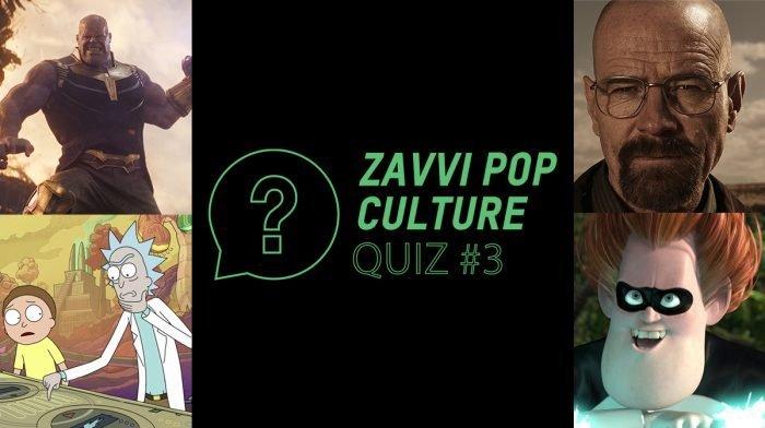 The Zavvi Pop Culture Quiz #3