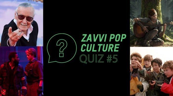 The Zavvi Pop Culture Quiz #5