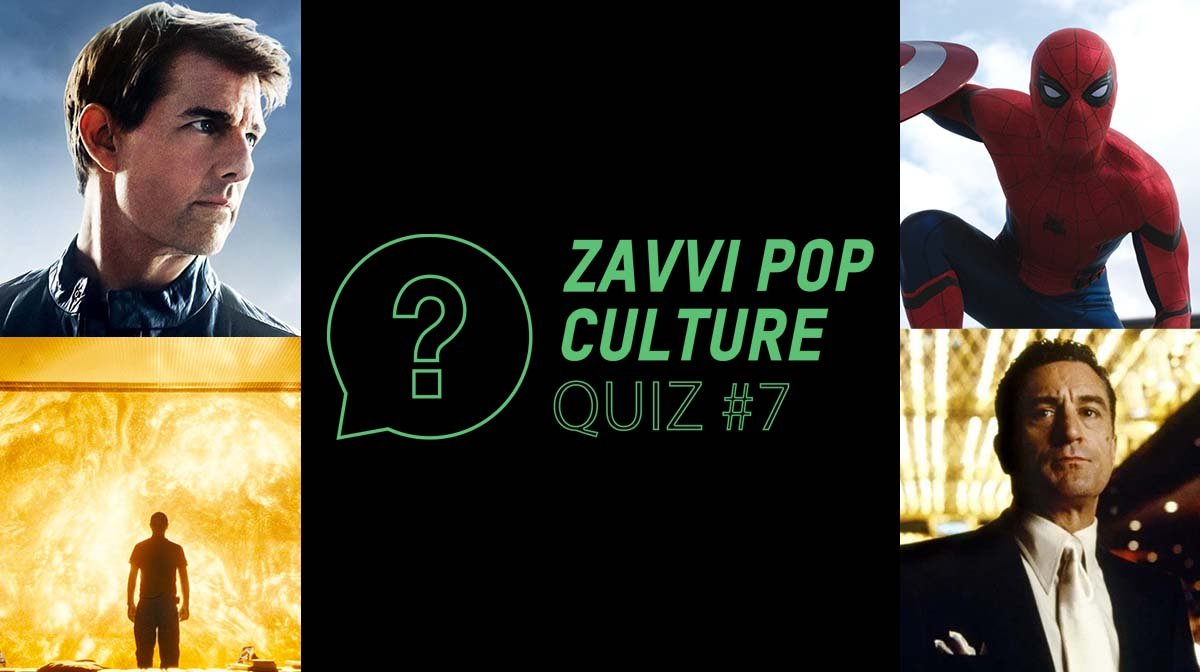The Zavvi Pop Culture Quiz #7