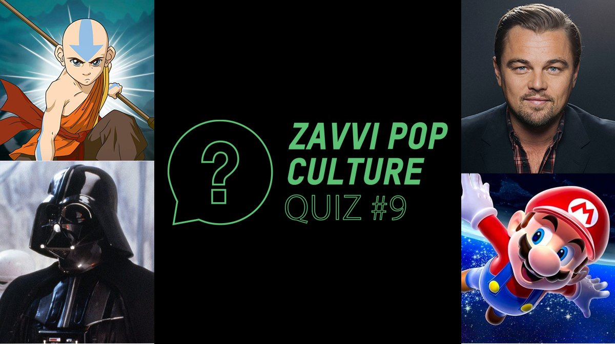 The Zavvi Pop Culture Quiz #9