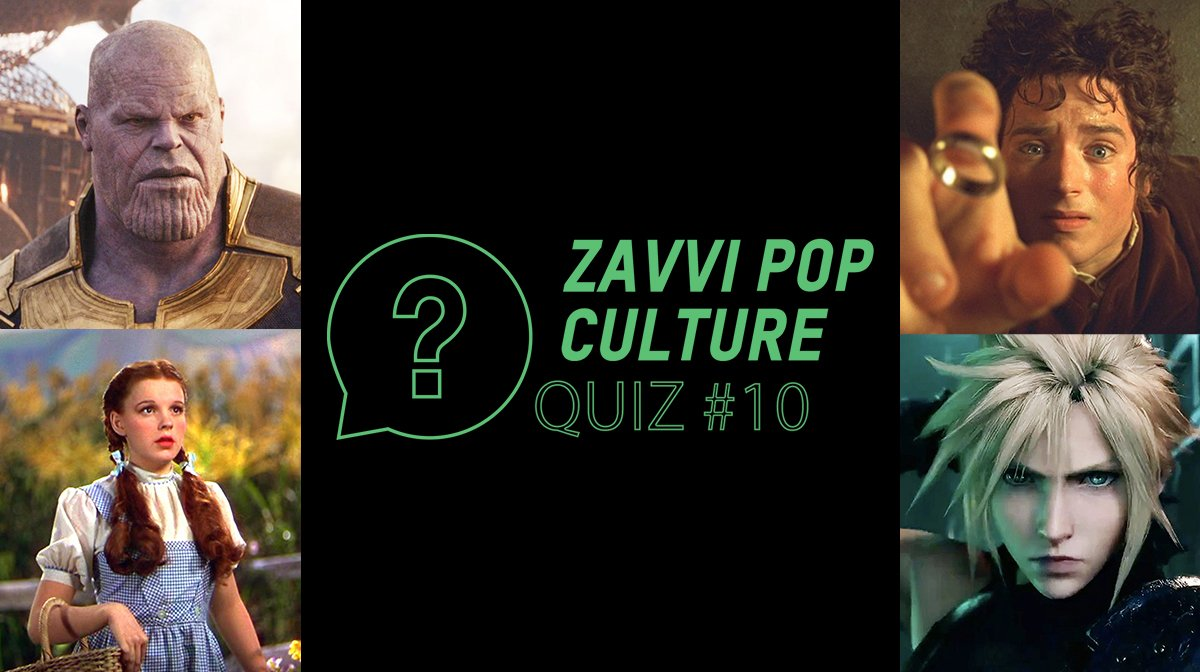 The Zavvi Pop Culture Quiz #10