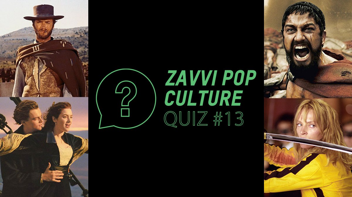 The Zavvi Pop Culture Quiz #13