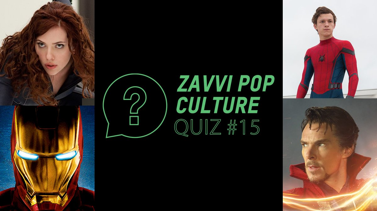 The Zavvi Pop Culture Quiz #15 - MCU Edition