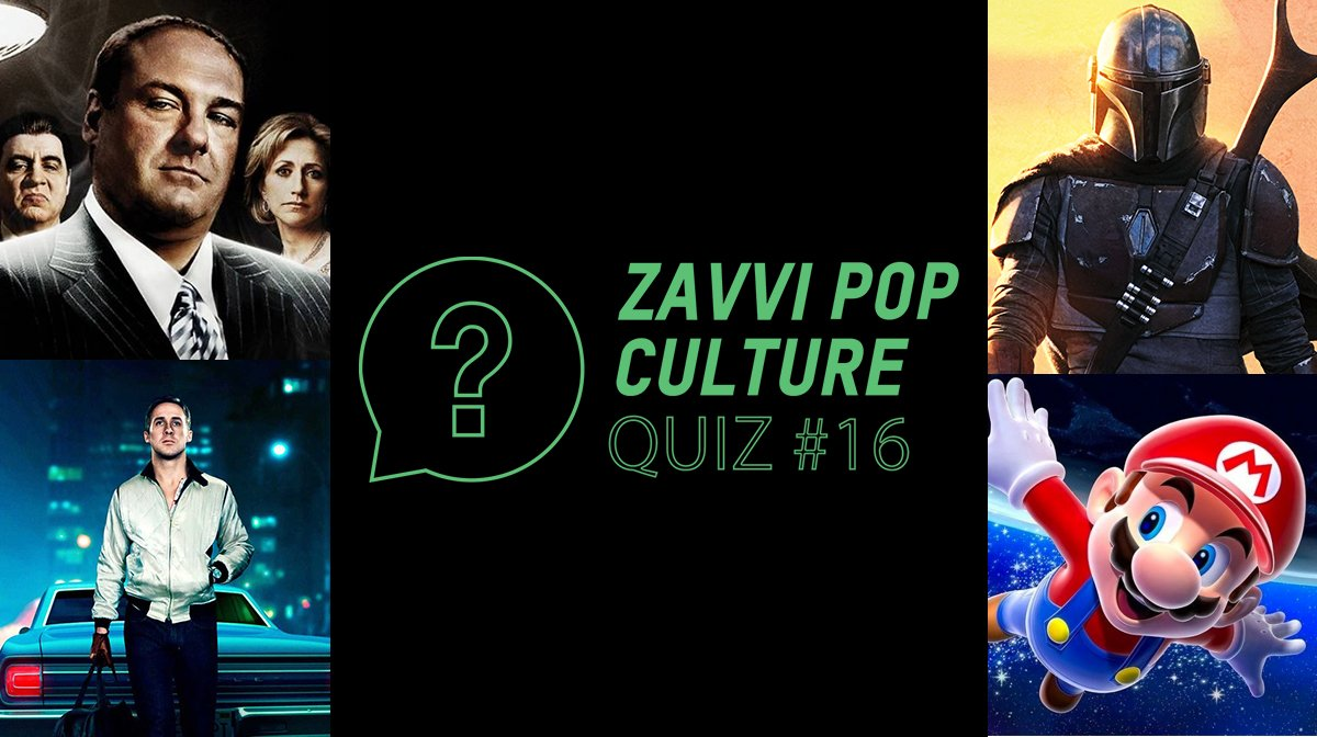 The Zavvi Pop Culture Quiz #16