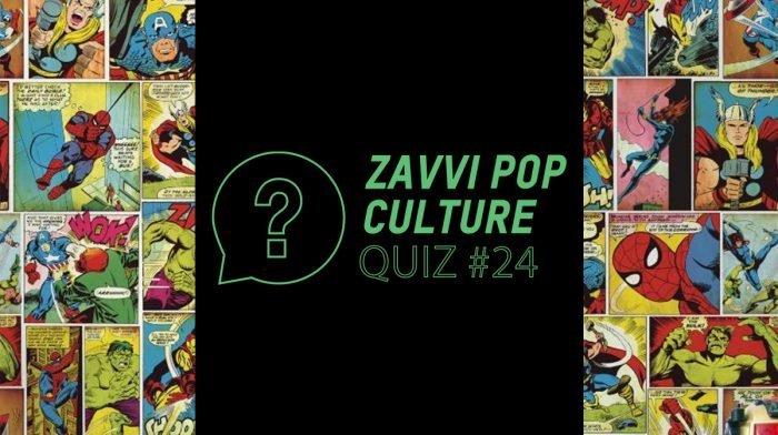 The Zavvi Pop Culture Quiz #24 - Superhero Edition