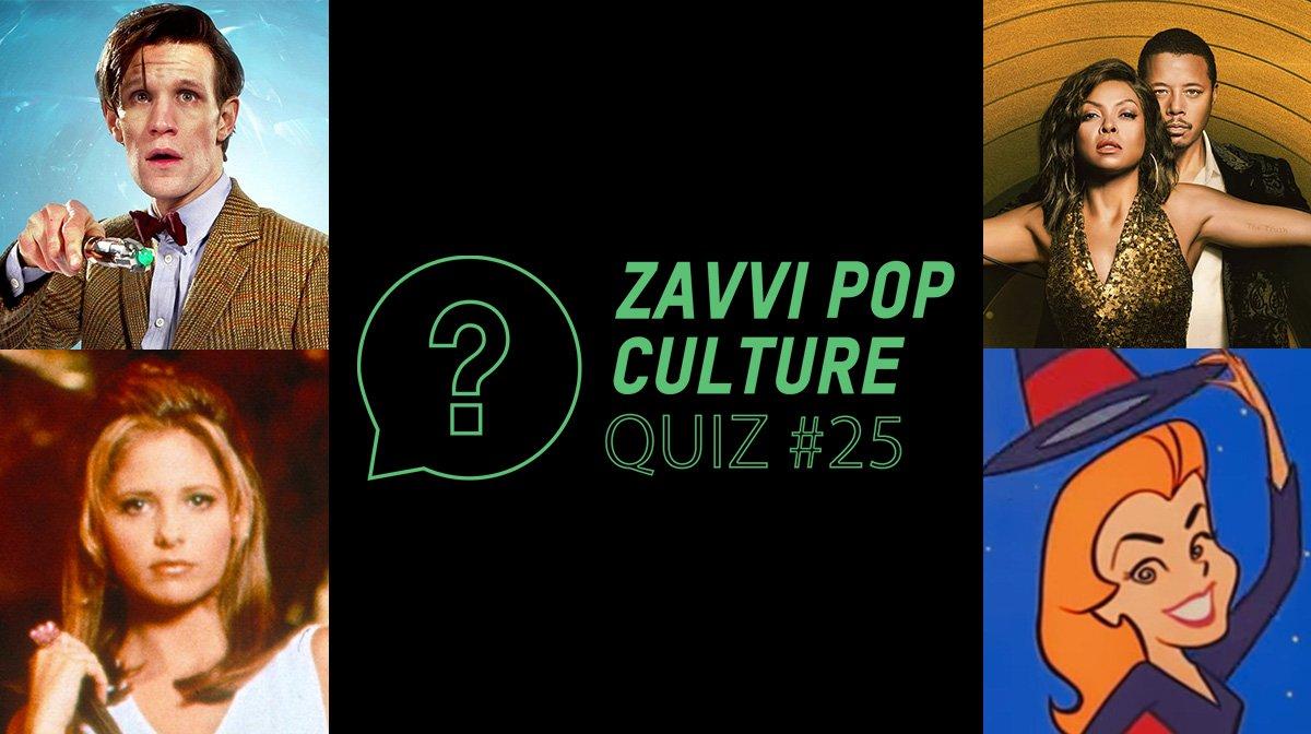 The Zavvi Pop Culture Quiz #25 - TV Edition