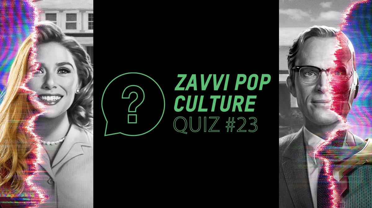 The Zavvi Pop Culture Quiz #23 - MCU Wanda And Vision Edition
