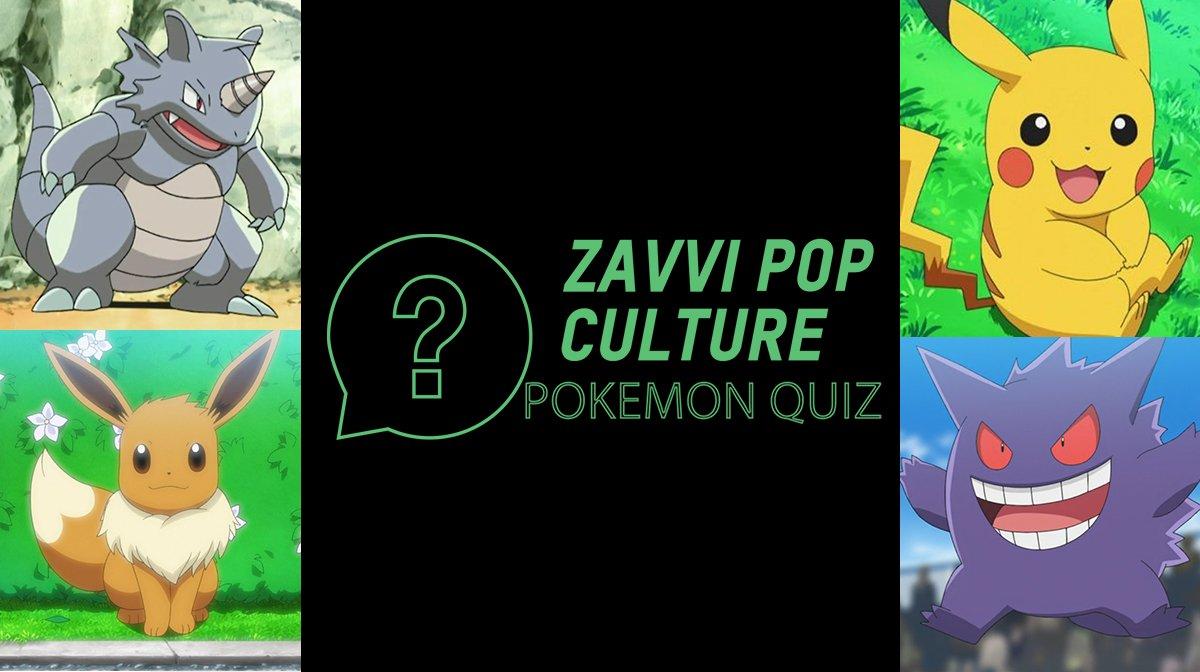 The Zavvi Pop Culture Quiz #29 - Pokémon Edition