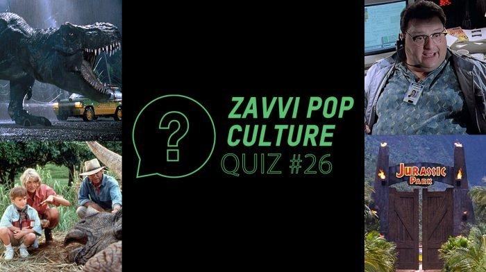 The Zavvi Pop Culture Quiz #26 - Jurassic Park Edition