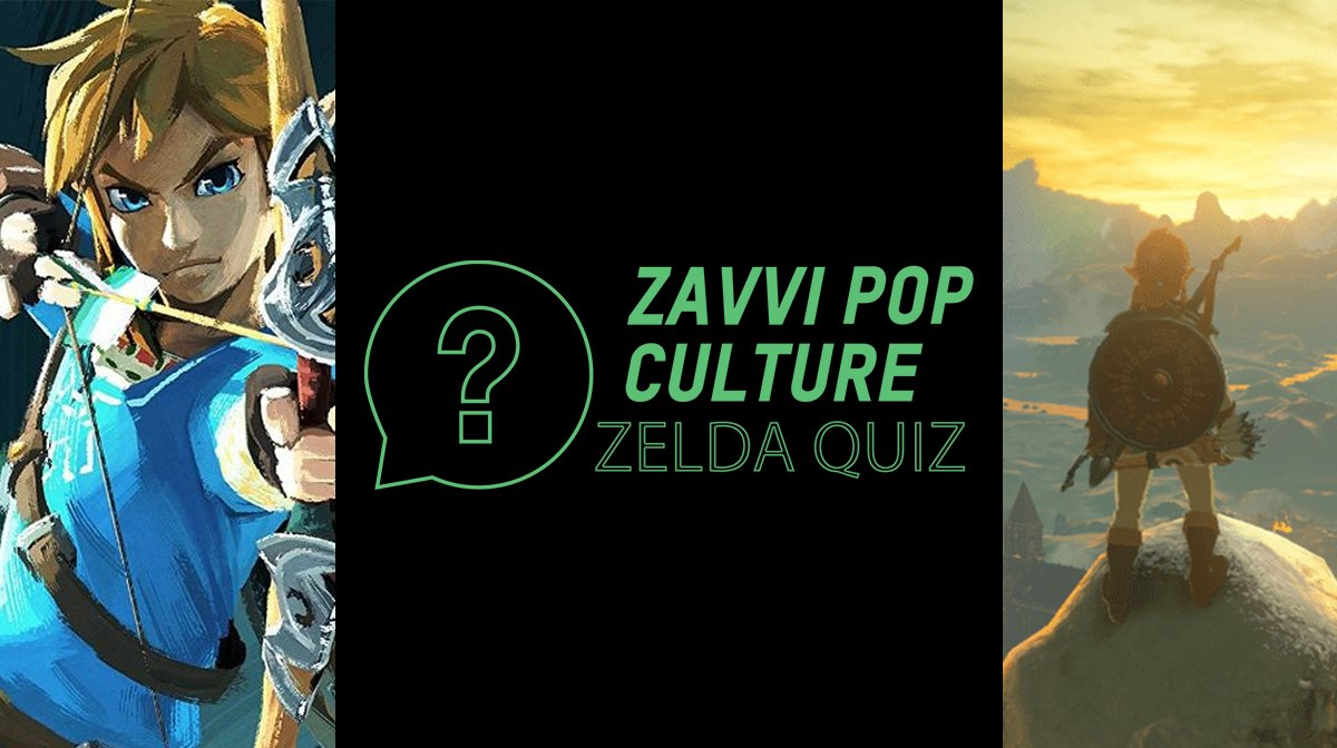 The Zavvi Pop Culture Quiz #28 - The Legend Of Zelda Edition