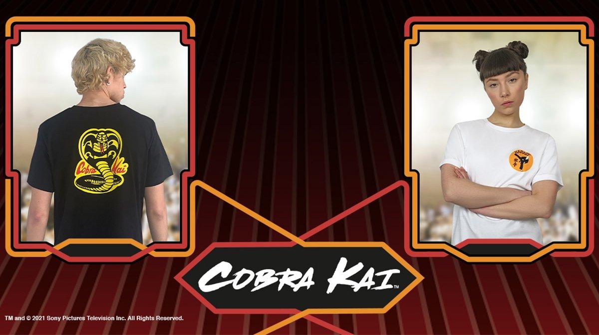 Zavvi Launches Exclusive Cobra Kai Collection