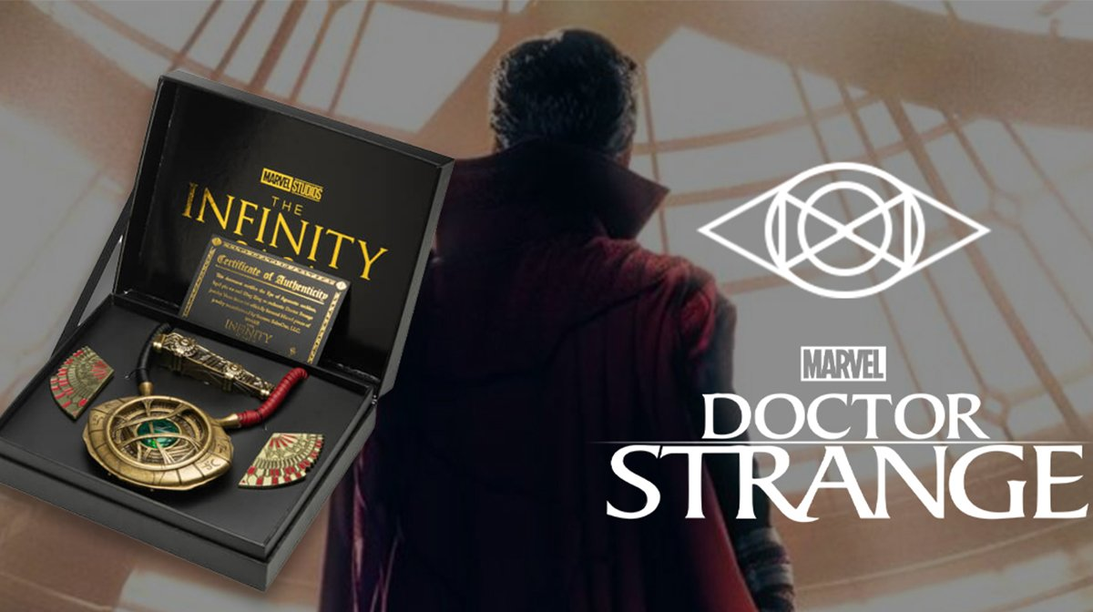 Zavvi Launches Worldwide Exclusive Doctor Strange Replica Set