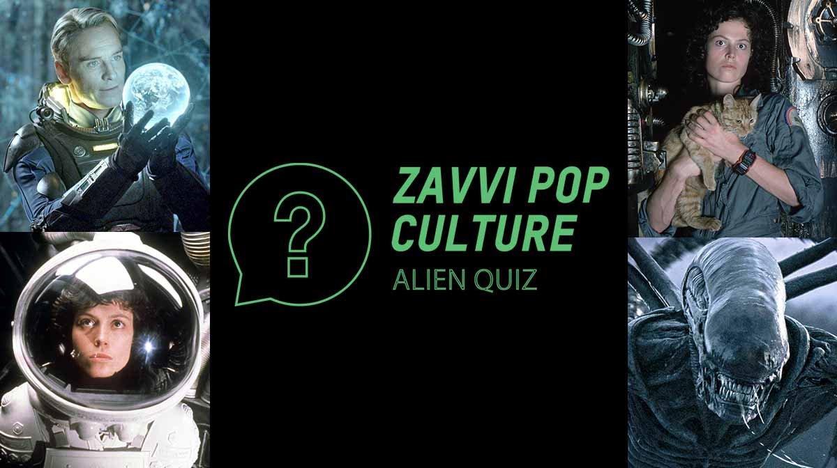 The Zavvi Pop Culture Quiz #37 - Alien Edition