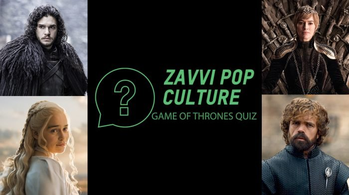 The Zavvi Pop Culture Quiz #36 - Game Of Thrones Edition