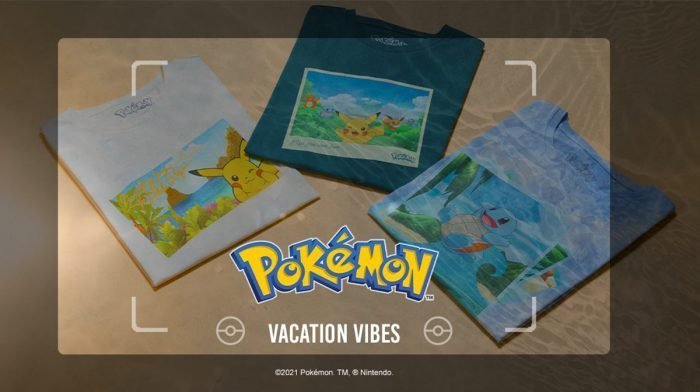 Our Exclusive Pokémon: Vacation Vibes Clothing Range Is Here