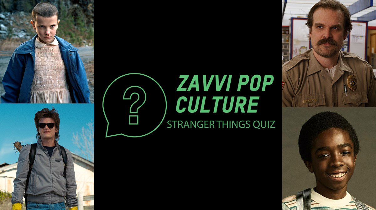 The Zavvi Pop Culture Quiz #39 - Stranger Things Edition