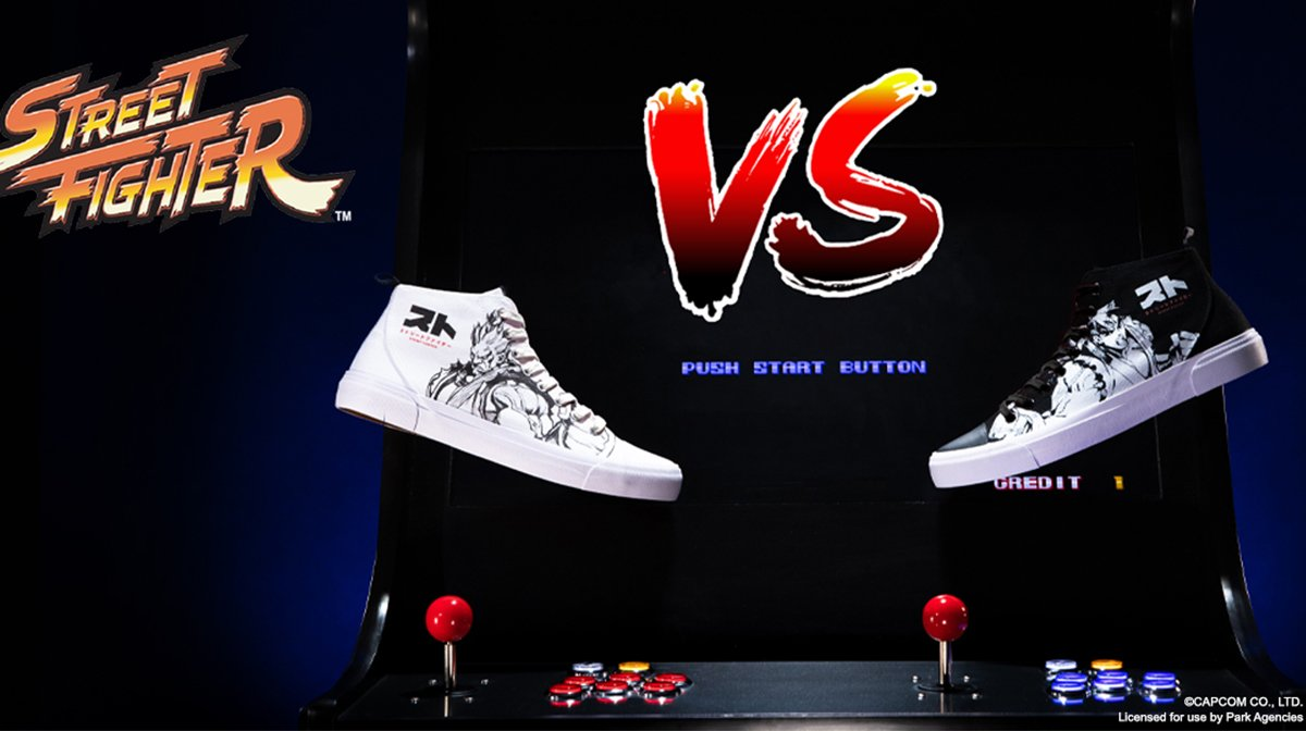 The Zavvi Exclusive Street Fighter Akedo High Tops Have Landed!