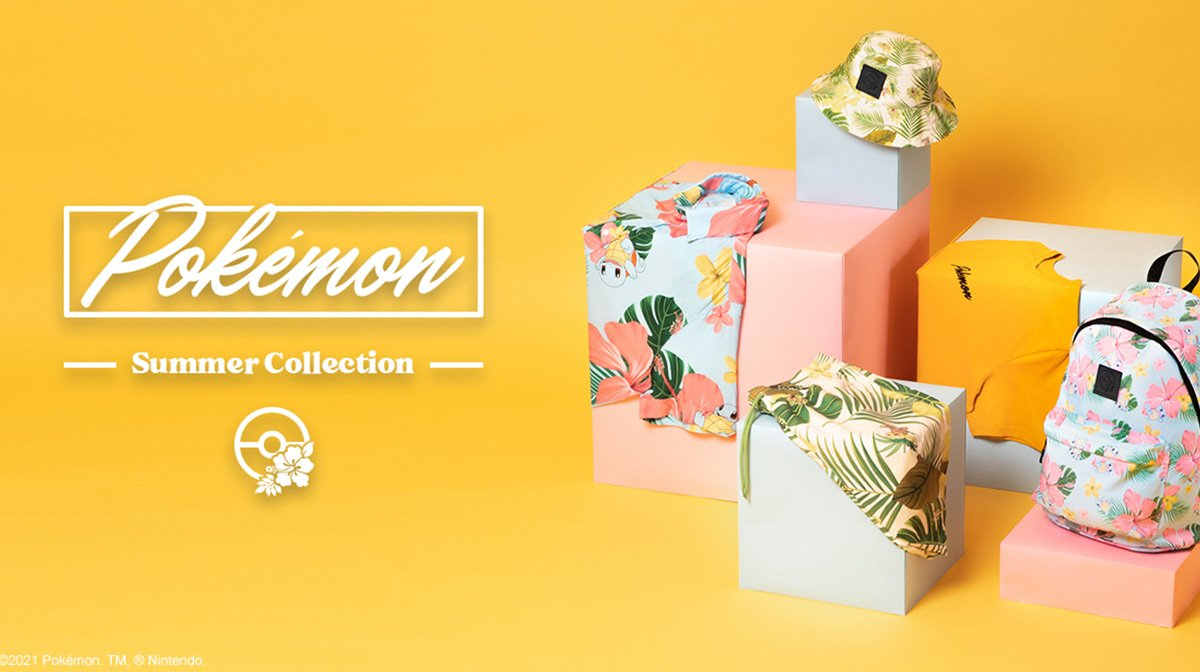 Our Exclusive Pokémon Summer Collection Has Arrived
