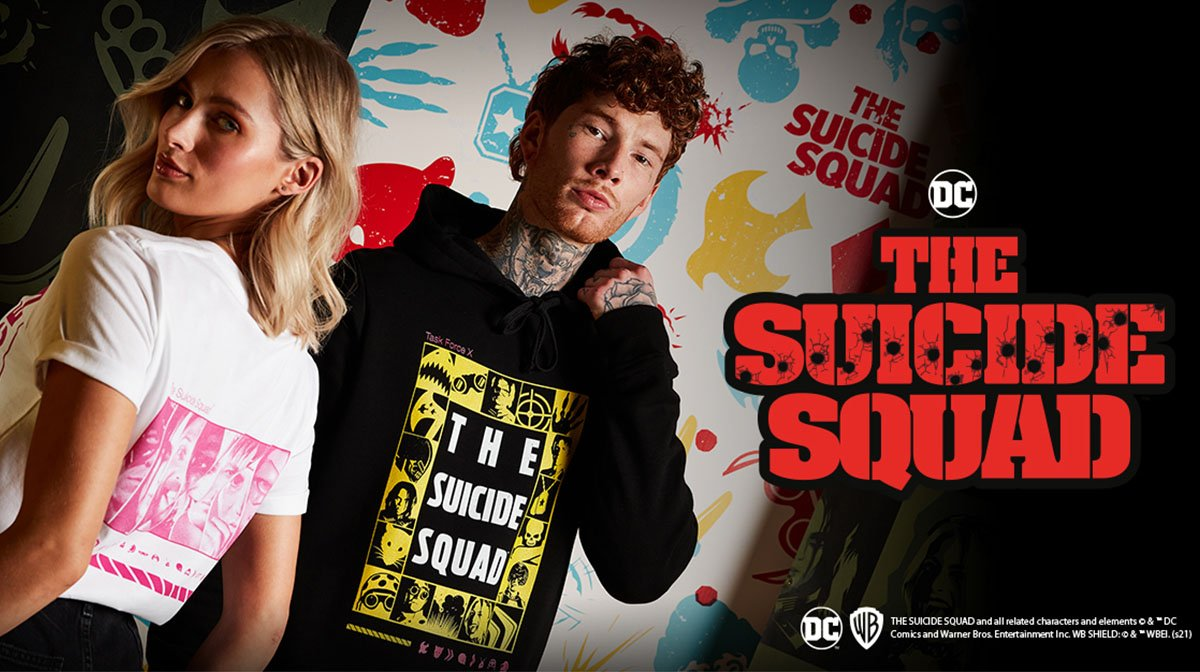 Our Exclusive The Suicide Squad Collection Has Arrived