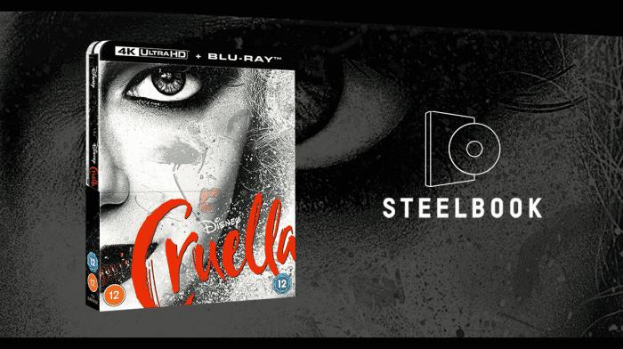 Our Exclusive Cruella 4K Steelbook Has Arrived