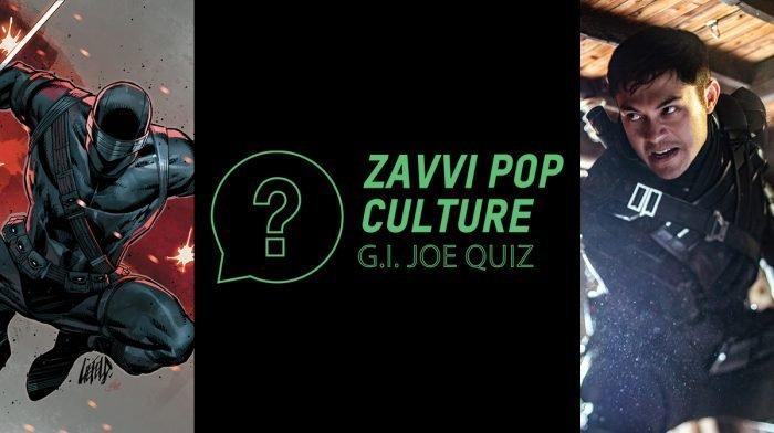The Zavvi Pop Culture Quiz #45 - G.I. Joe Edition