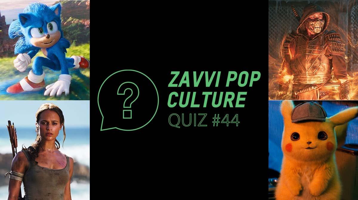 The Zavvi Pop Culture Quiz #44 - Video Game Movie Edition