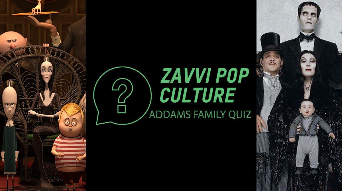 The Zavvi Pop Culture Quiz #52: Addams Family Edition