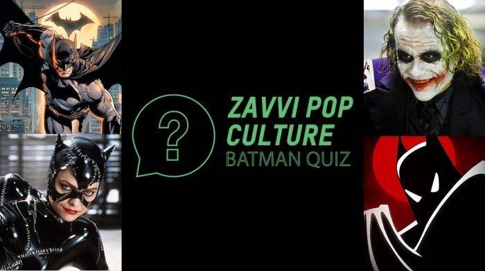 The Zavvi Pop Culture Quiz #49: Batman Edition