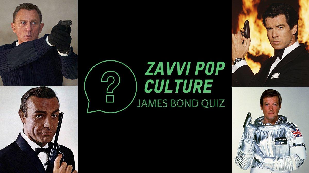 The Zavvi Pop Culture Quiz #51: James Bond Edition
